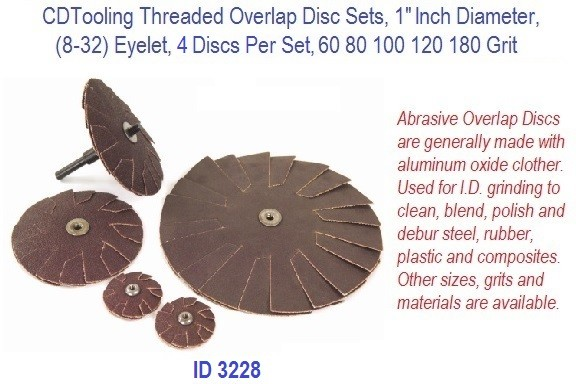 Threaded Overlap Disc Set, 1