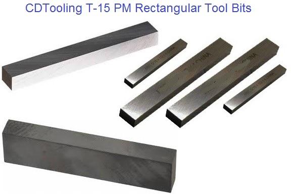 Pack of 2 5//8 Shank Width 3//4 Shank Height 5 M42 Cobalt Rectangular Tool Bit