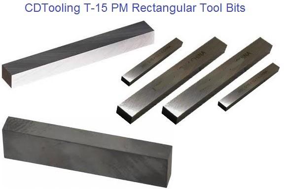 3//8 Inch x 3//8 Inch x 3 Inch M42 HSSSquare Type Tool Bits Lathe Cutter