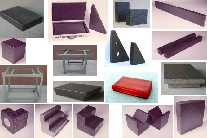 Granite Blocks,Parallels, Plates, Risers,Squares, Stands, Straight Edge