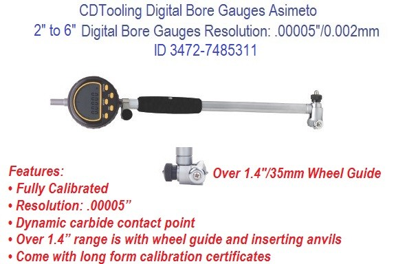 2  to 6 Inch Digital Bore Gauges ID 3472-7485311