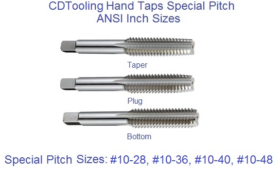 High Speed Plug Special Thread Hand Tap 10-36