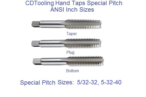 1-40 HSS Taper Hand Tap