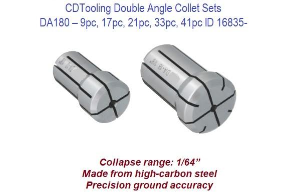 New DA300 DA30 DK30 High Precision Double Angle Collet Includes VAT /& Delivery
