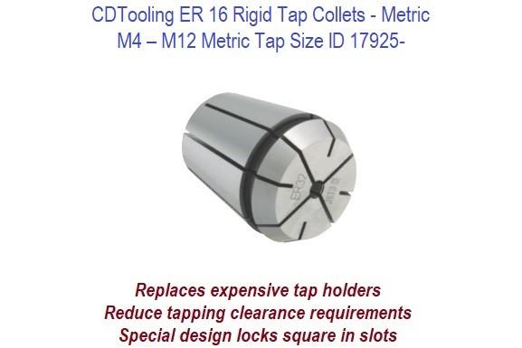 "Techniks 7//16/"" ER16 Rigid Tap Collet"