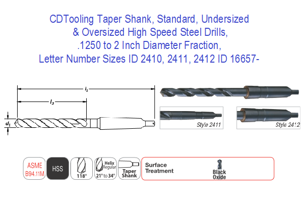 High Speed Steel 4 Morse Taper Shank 13 1//2 Overall Length 1 1//4 Size F/&D Tool Company 24863 Taper Shank Core Drills 3 Flute 7 7//8 Flute Length