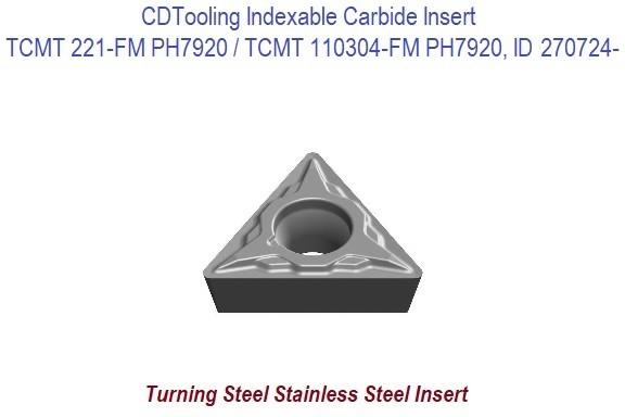 3PCS New SECO TPMM 321-46 TiN Carbide Turning Inserts Grade 516 TPMM321-46