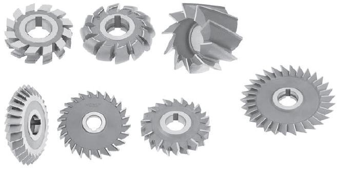 Milling Cutter Plain, Staggered Tooth, Concave, Convex, Shell End Mills, Single. Double Angle HSS