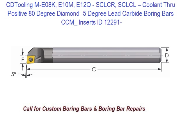CNC WEEKLY SPECIAL  NEW SOLID CARBIDE BORING BAR 3//8  //WITH 25  CCMT 21.51