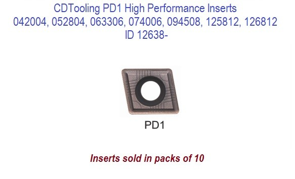 PD1 042004, 052804, 063306, 074006, 094508, 125812, 126812 High Performance -10 Pack Inserts ID 12638-