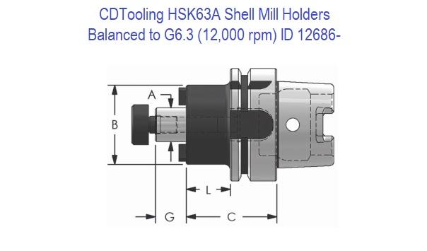 """BT50 ER32 2-49//64/"""" Collet Chuck Tool Holder G6.3 Balanced to 8000 RPM"""