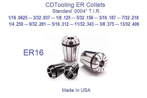 "European Brand 9//32/"" 5//16/"" ER-32 Collet"
