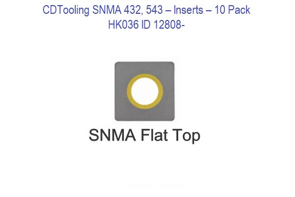 SNMA 432, 543 - HK036 - 10 Pack Inserts ID 12808-