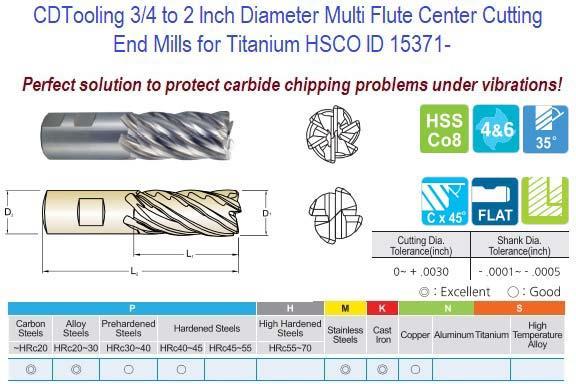 "4-flutes,Regular-length CORNER RADIUS .030 1//2/"" Carbide End Mill"