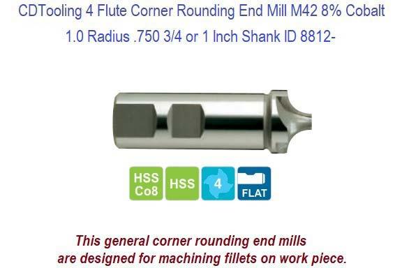 "1-1//4/"" Diameter x 82Deg Single End 1 Flute Bright M42 Melin Cobalt Countersink"