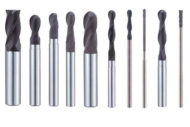 Nano Crystalline Diamond Carbide End Mill  Coated