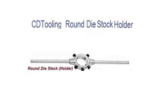 13/16 Inch Round Die Stocks - for holding adjustable round split dies - ID: 538-DS63001
