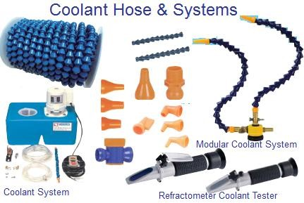 Adjustable Coolant Hose, System and Fittings CDTooling Coolock Modular Compare to Loc-Line