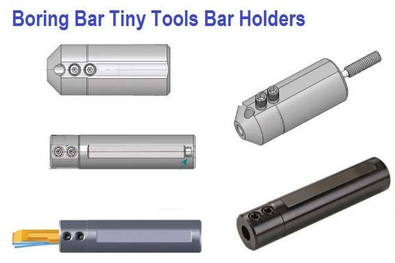 Boring Bar Holders SIM Tiny Tools Bar Holders with through Coolant MKR Full Radius