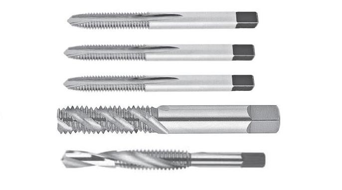 Tap and Drill High Speed Steel Spiral Point and Flute Imperial Sizes and +0.005 Oversize